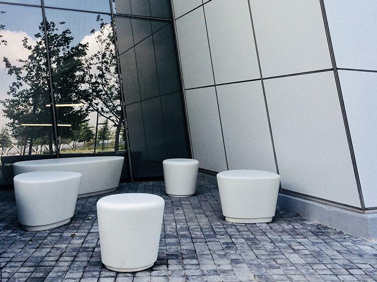Igneous Concrete Seating